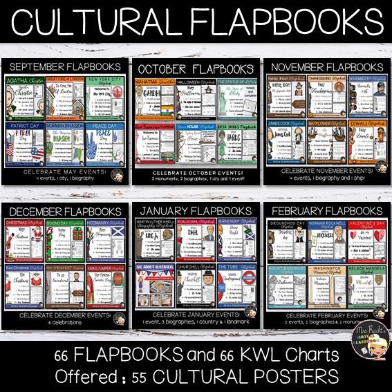 Flapbooks Yearlong Bindle