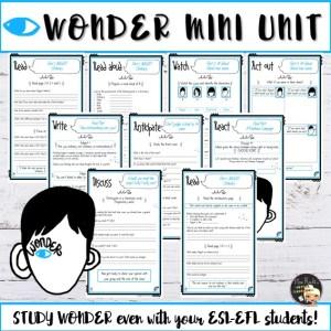 Mini-Séquence Wonder 3e