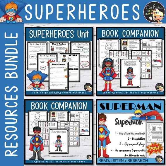 Séquence Superheroes 6e Bundle