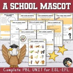 Séquence School Mascot 4e