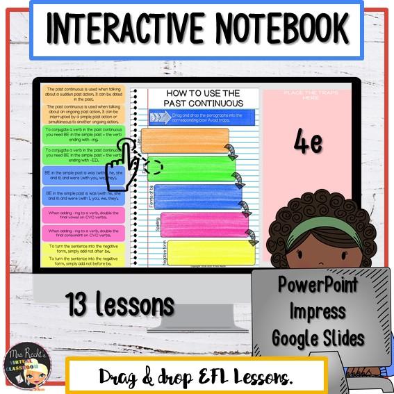 Cahier interactif numérique 4e