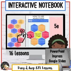 Cahier interactif numérique 5e