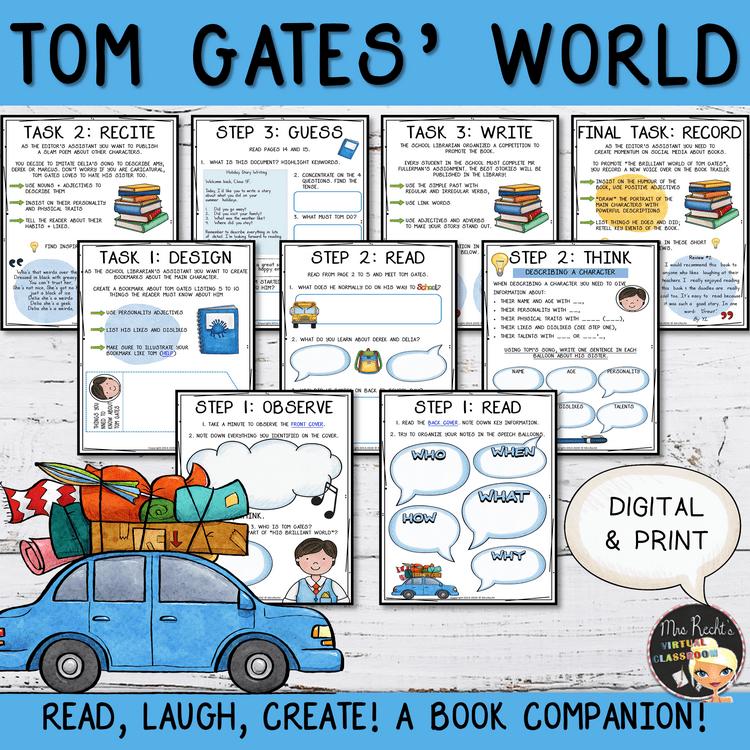 Séquence Tom Gates 4e