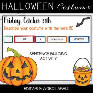 Activité Etiquettes Halloween