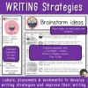 Stratégies pour écrire en anglais