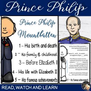 Flapbook Prince Philip
