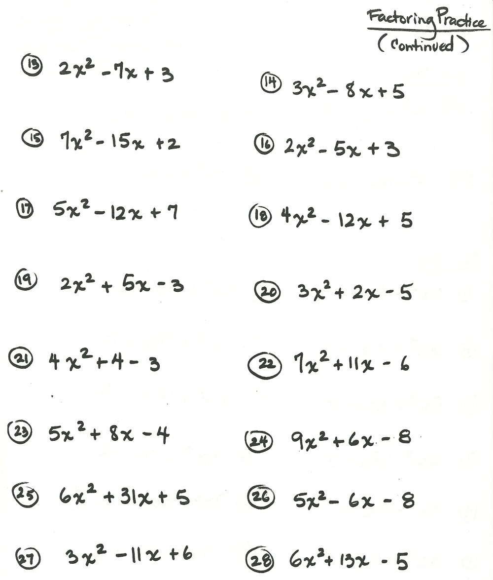 medium resolution of algebra worksheet