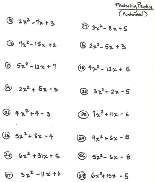 small resolution of algebra worksheet