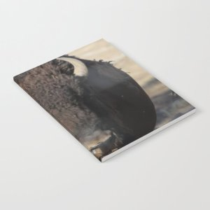 Bison Of The West Notebook