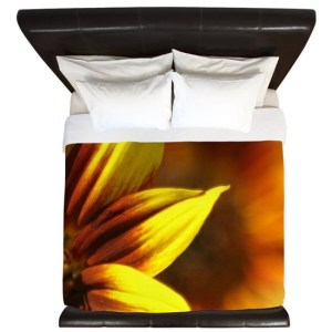 Color of the Sunflower King Duvet