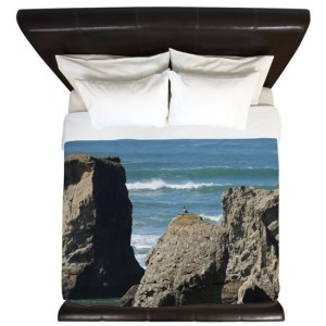 Pacific Ocean Beach King Duvet