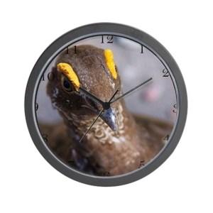 Grouse Bird Large Wall Clock