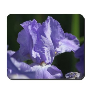 Bearded Iris Flower Mousepad