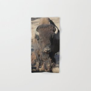 Bison Of The West Hand & Bath Towel