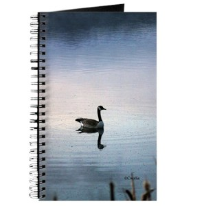Goose In The Early Morning Light Journal