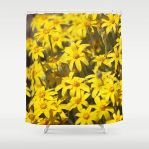 High Desert Wildflowers Shower Curtain