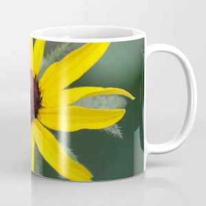 Black Eyed Susan Flower Coffee Mug