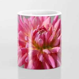 Colorful Dahlia Flower Bloom Coffee Mug