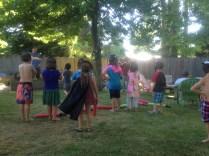 Outdoor birthday parties