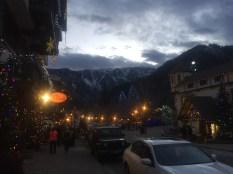 The lights of Leavenworth