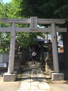 On the Tour Of The 7 Gods Of Tokai, a 2-hour walking tour of 7 temples and shrines.