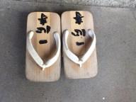 Shrine sandals.