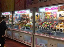 The Japanese arcades were crazy fun.