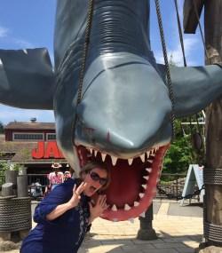 Jaws got me at Universal Studios Osaka.