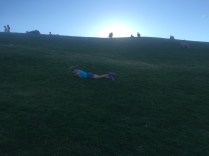 The hills at Gasworks are endless fun