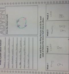 advent worksheet   Mrs Sosa's Class [ 2448 x 3264 Pixel ]