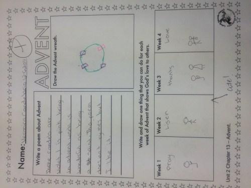small resolution of advent worksheet   Mrs Sosa's Class