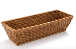 Rattan Bread Serving Basket