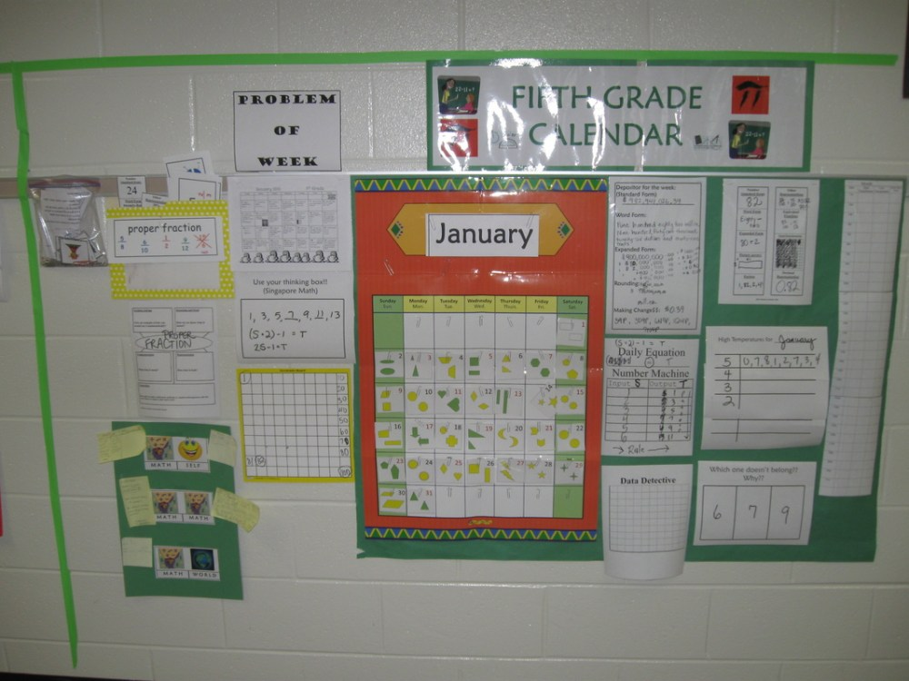 medium resolution of Calendar/Number Routines Supplements K-5 - Mrs. Kathy Spruiell at SCHOOL
