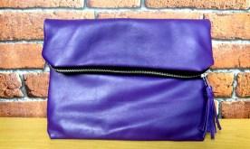 Luxe clutch bag