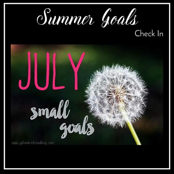 Summer Goals Check In