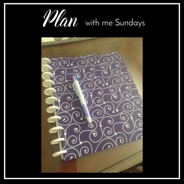 Plan With Me Sundays