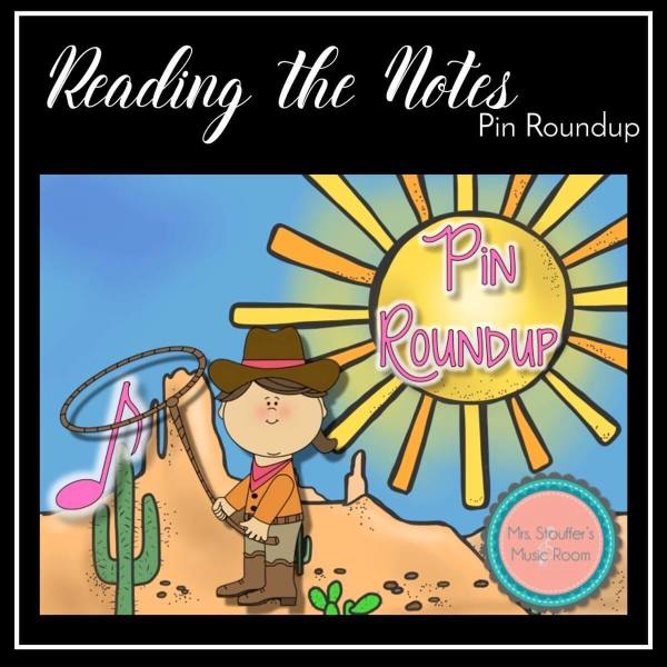 Reading the Notes Pin Round Up