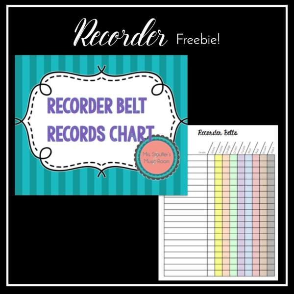 Recorder Freebie!