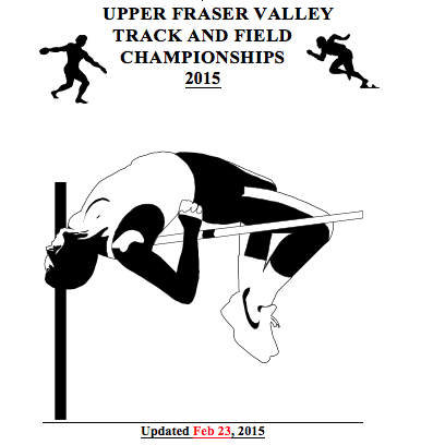 Upper Fraser Valley Championships 2015, April 28th and