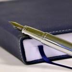 本と万年筆