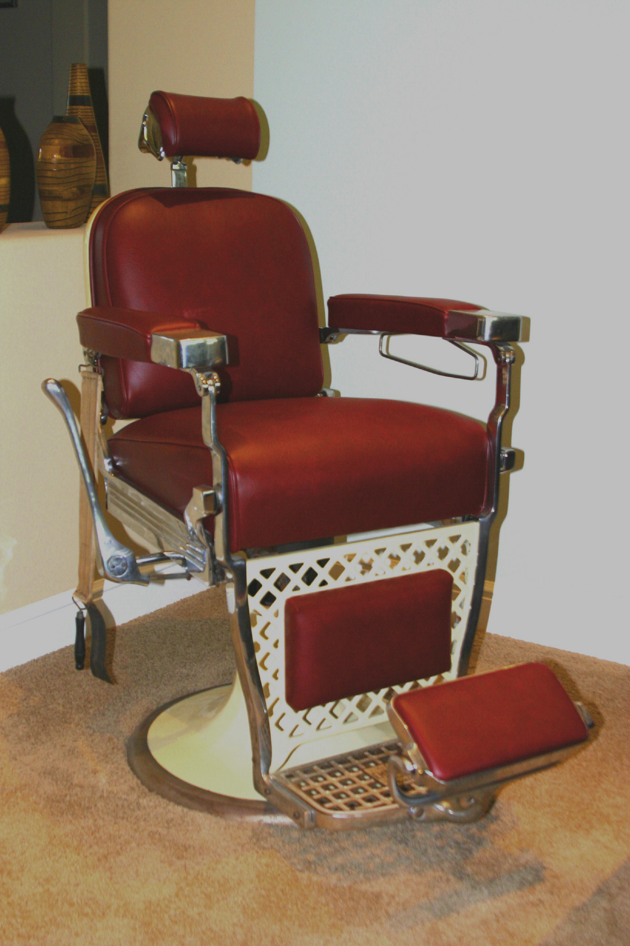 Shop Chairs Barber Chair Barbers And Antiques On Pinterest