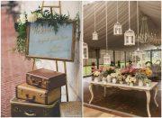 shabby chic vintage wedding ideas