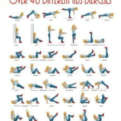 Office Chair Exercises For Abs Barrel Table And Chairs Over 40 Different Ab   Mrstoddjourney