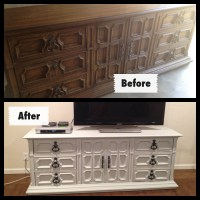 Dressers Turned Into Entertainment Centers
