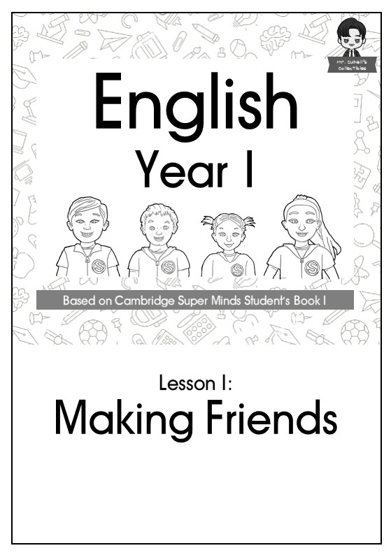English Year 1: Making Friends