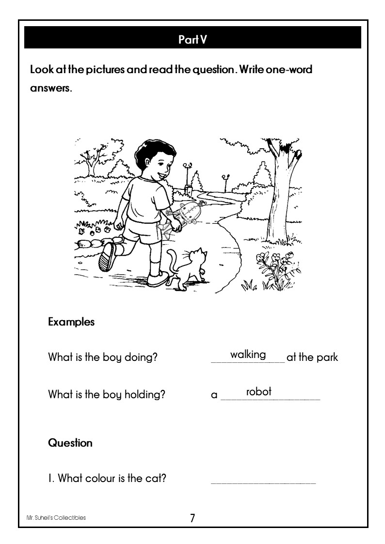 Summative Assessment: Reading and Writing Test