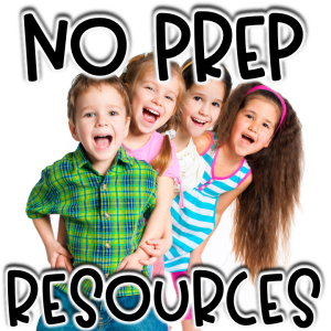 No Prep Resources