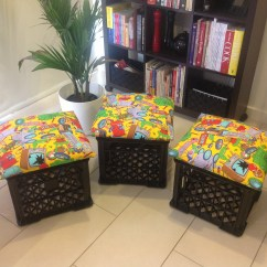 Diy Classroom Chair Covers Wingback Dining Chairs Milk Crate Seats Teacher On Training Wheels