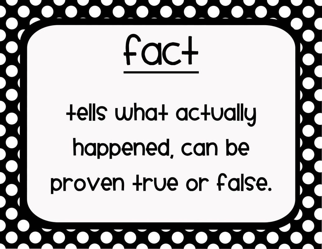 Fact Amp Opinion