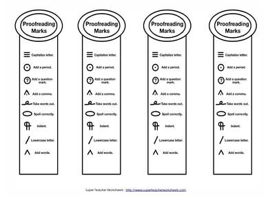 All Worksheets » Editing And Revising Worksheets